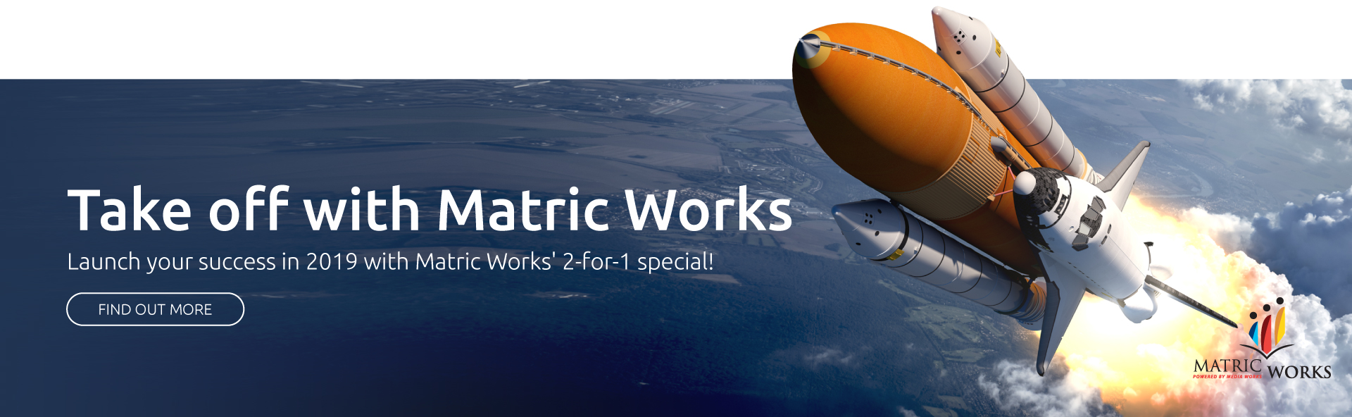 Matric Works - it's never too late to learn banner
